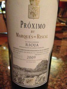Red Wine Bottle of Rioja