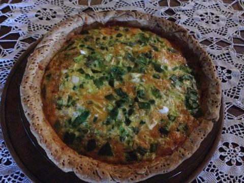 Ham & Cheese Egg Pie