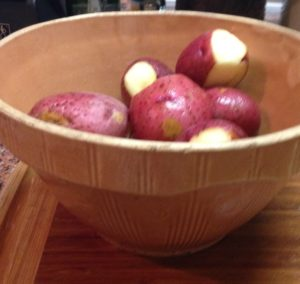 Red Potatoes with Skins