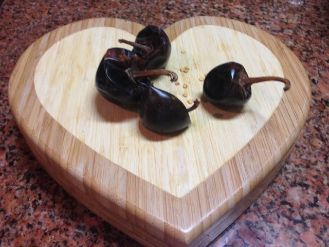 Cascabel Dried Chilies are from Mexico. They impart a great flavor with a mild heat