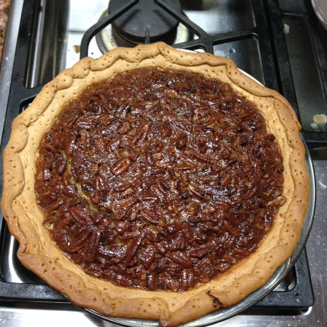 Love the family and Oh my, That Pecan Pie