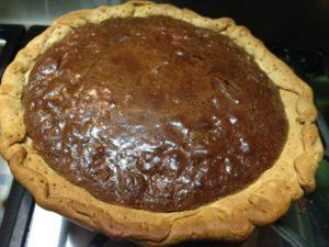 Southern Comfort Chocolate Pie www.diningwithmimi.com