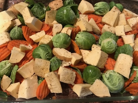 Assortment of fresh vegetables www.diningwithmimi.com