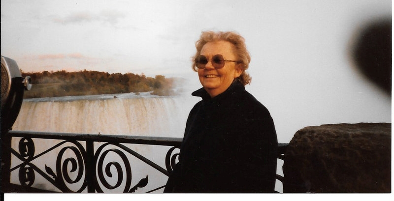 Niagara Falls with Grandmother Photo credit Lois Page