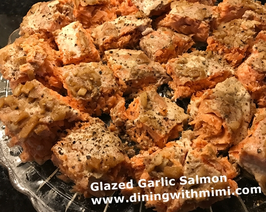 Glazed Garlic Salmon