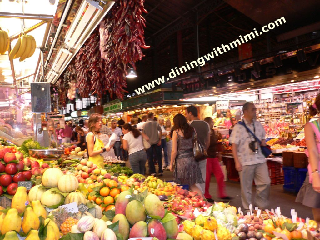 Cook, please! Food Market in Barcelona www.diningwithmimi.com