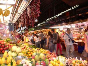Food Market in Barcelona
