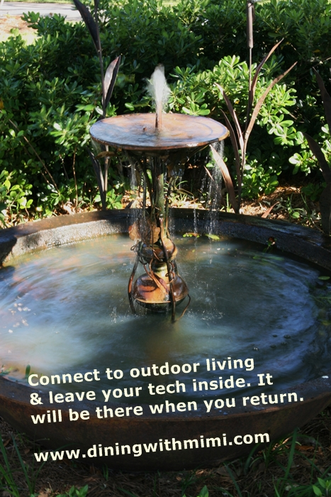 Fountain- Connect outdoors