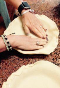 Funny Girl pressing in crust