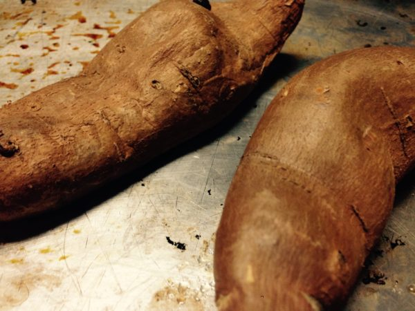 Baked Sweet Potatoes for Weary Souls Chicken Soup
