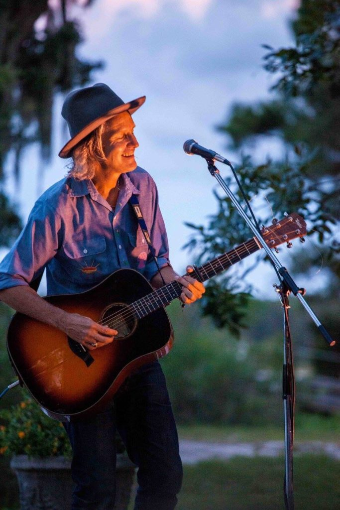 Steve Poltz performed at Water's Edge Weeks Bay