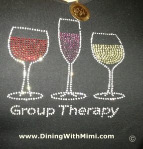 Wine Walks provide a certain type of therapy