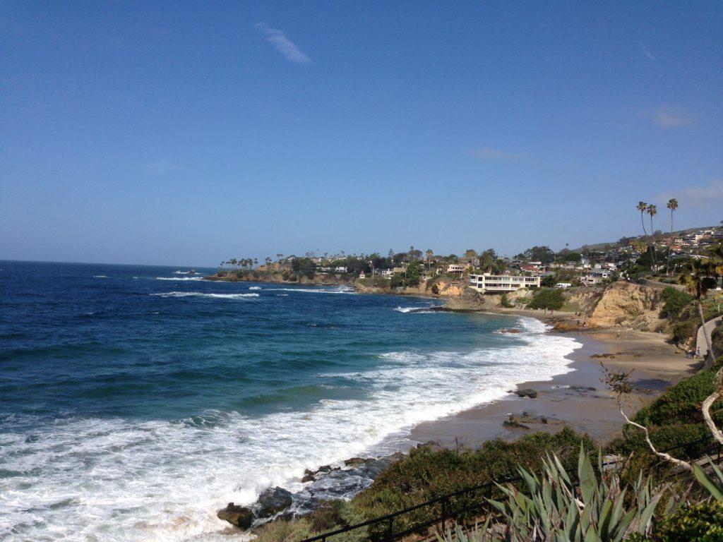 Shoreline in Laguna Beach