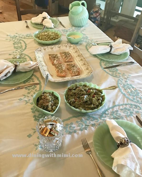 Easy Low Calorie Salmon www.diningwithmimi.com