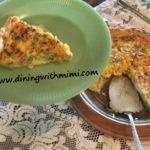 Quiche- Albacore Tuna Spiced Up? Wow!