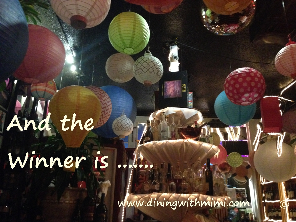 Anniversary Tasting Event Winner www.diningwithmimi.com
