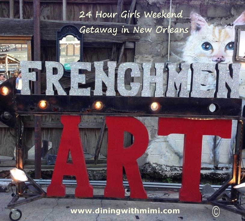 New Orleans 24 Hours Girls Weekend Getaway Plan