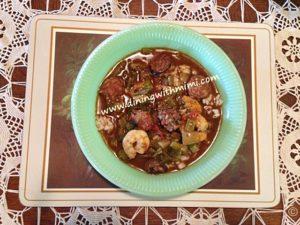 Seafood Gumbo Laissez les bon temps rouler www.diningwithmimi.com