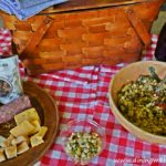 Picnic packed for a Picnic Worthy Roasted Poblano Corn Salad www.diningwithmimi.com
