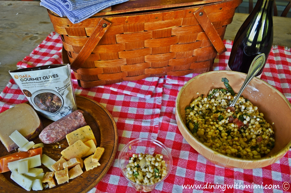 Picnic Worthy Roasted Poblano Corn Salad