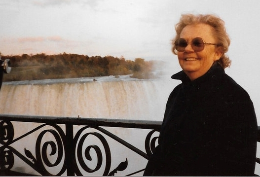 Granny at Niagara Falls Love Here and Loves From Afar www.diningwithmimi.com