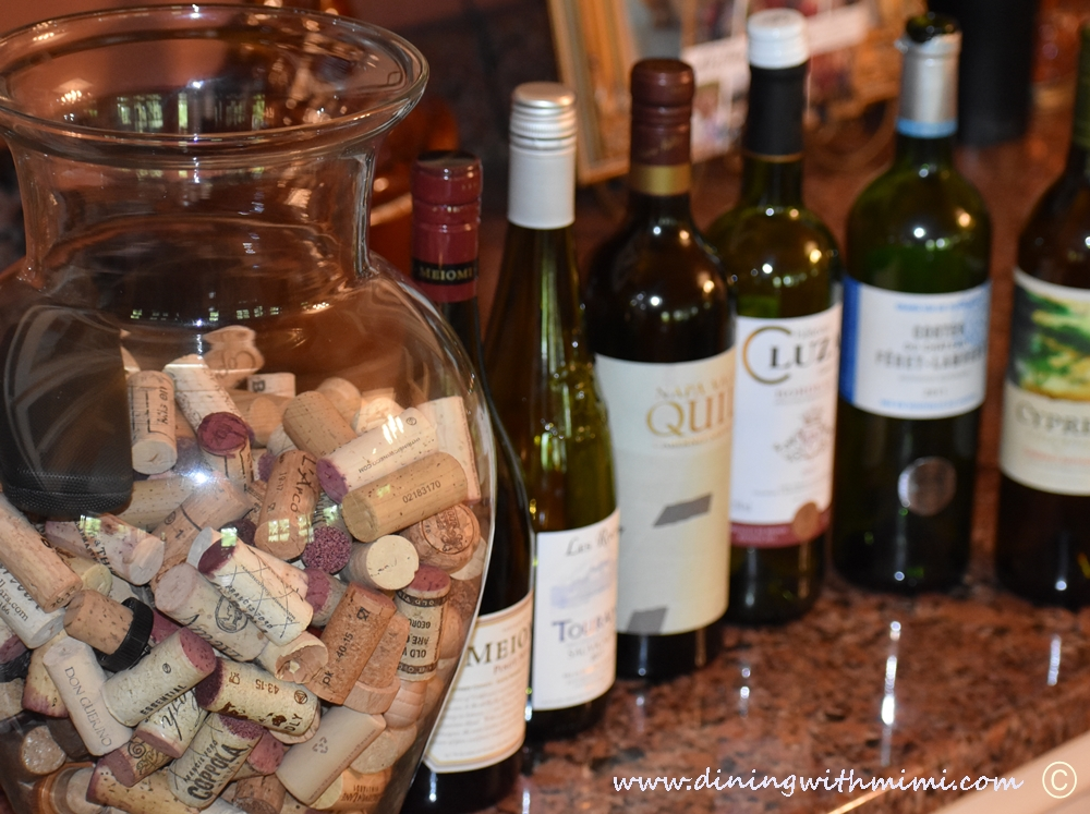 Plan a wine tasting with friends