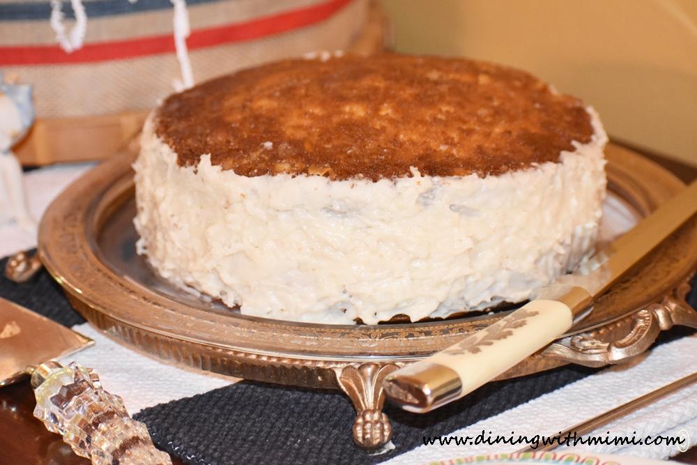 Yummy Cake Mimi's Celebrate Summer Menu Before it disappears www.diningwithmimi.com www.diningwithmimi.com