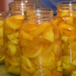 Squash Pickle Recipe and My Fearless Sous Chef In Training www.diningwithmimi.com