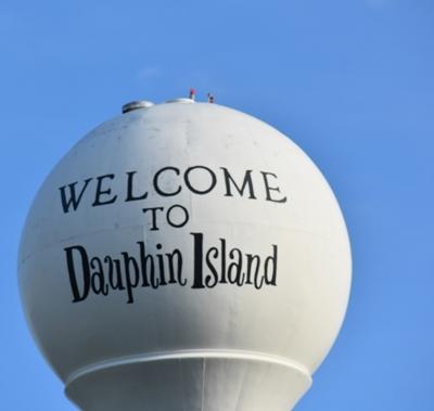 Water Tower Dauphin Island for Unwind on Dauphin Island www.diningwithmimi.com