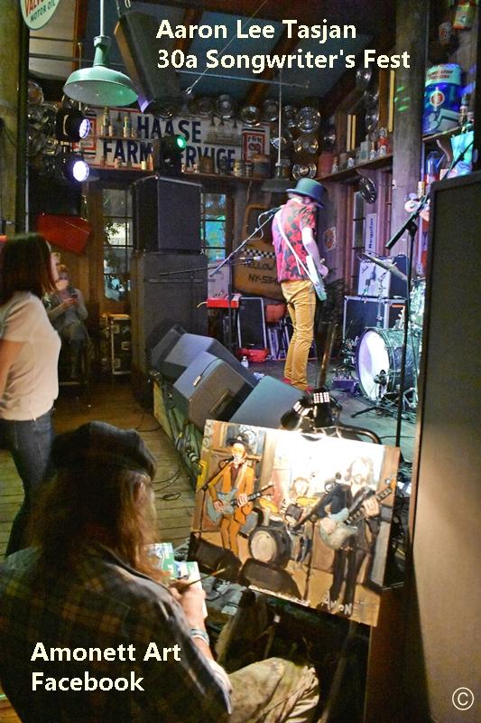 Aaron Lee Tasjan playing AJ's Grayton for Mimis Tips to Navigate 30aSongwriters Festival 2020 www.diningwithmimi.com
