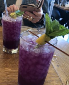 Sabas Purple Cocktail Need a quickie- Drop into New Orleans for 48 hours www.diningwithmimi.com