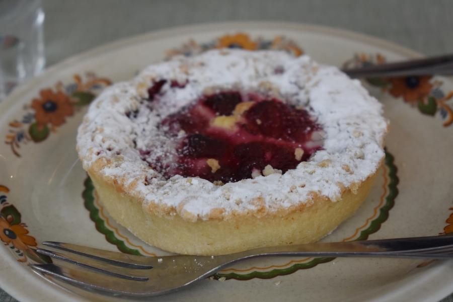 Blueberry Dessert Dazed by Engelberg in July www.diningwithmimi.com