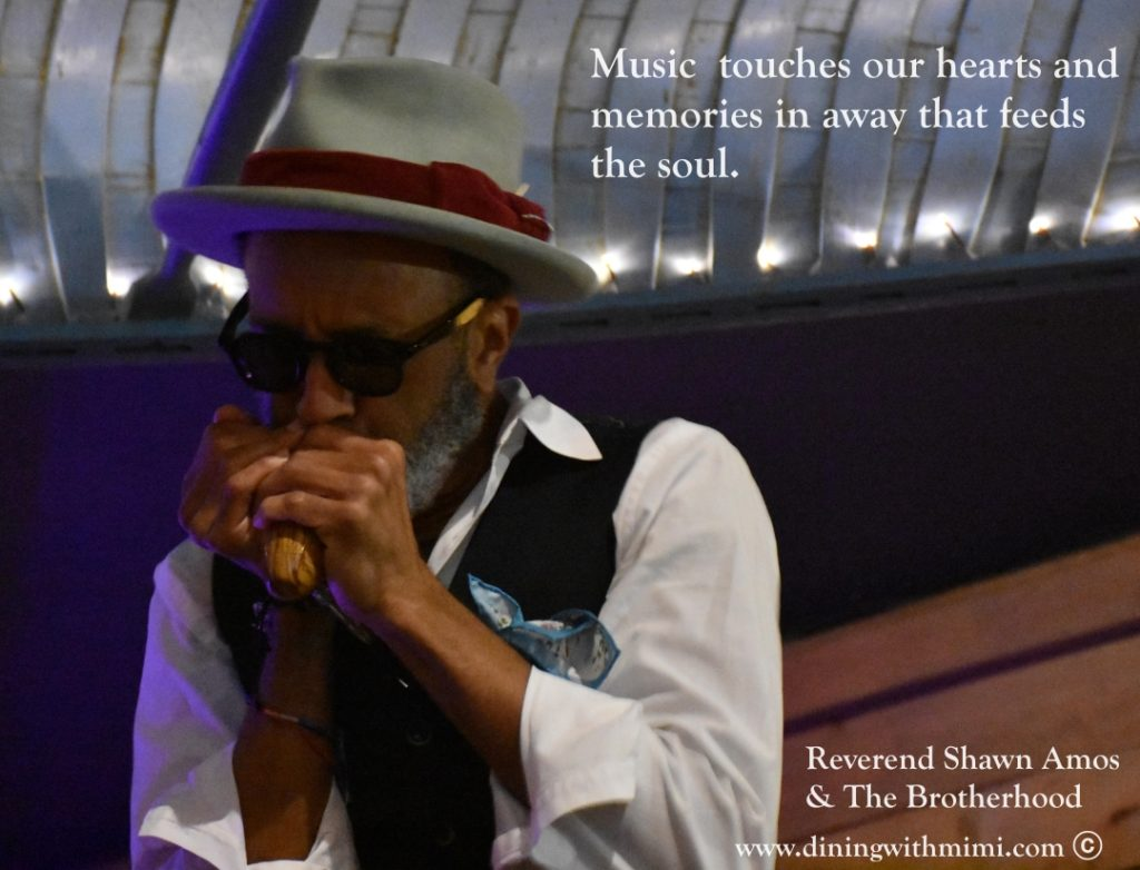 La Revue Dining With Mimi 3 La Revue Music Reverend Shawn Amos and The Brotherhood www.diningwithmimi.com