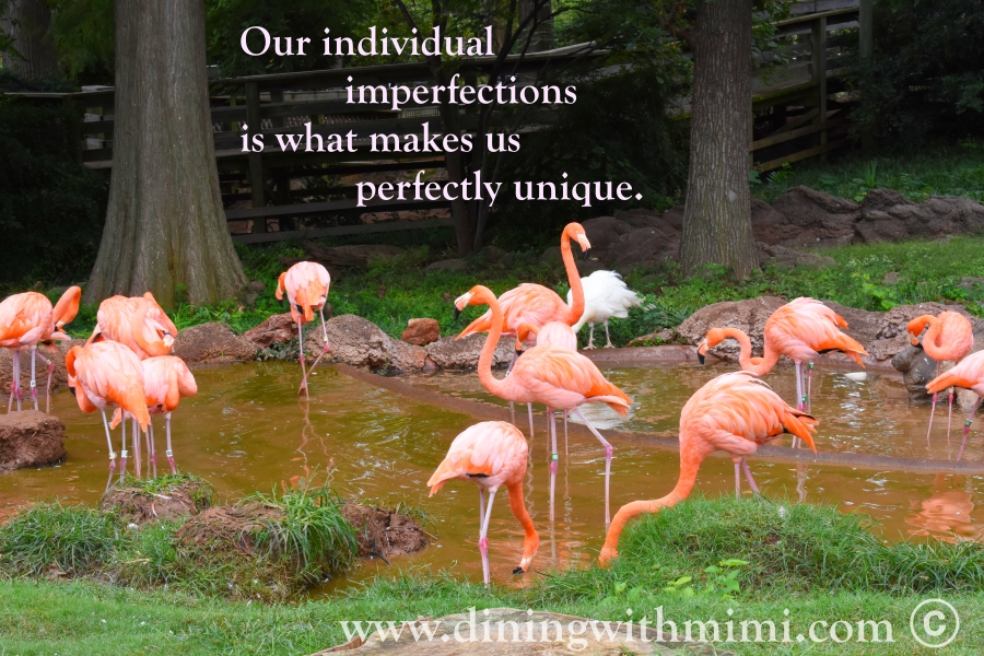 Quotes I love Our individual imperfections is what makes us perfectly unique.