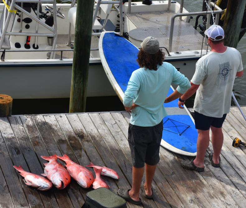Downtime Snapper, fun and fishing Dauphin Island www.diningwithmimi.com