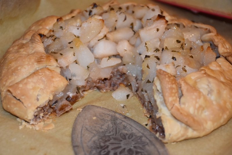 Dining With Mimis Rustic Pear Tart www.diningwithmimi.com