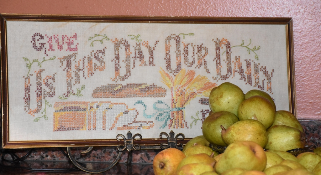 The Lords Prayer for pears www.diningwithmimi.com